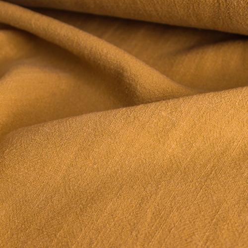 Viscose Linen Noil - Mustard | Blackbird Fabrics