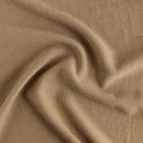 Viscose Linen Noil - Camel | Blackbird Fabrics