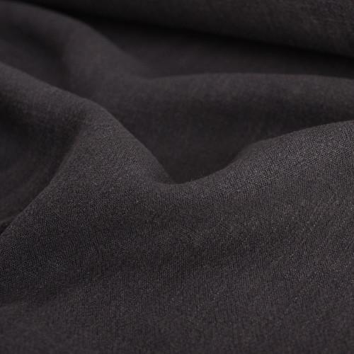 Viscose Linen Noil - Smoke | Blackbird Fabrics