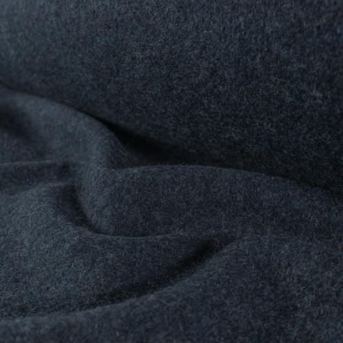 Boiled Wool Coating - Midnight | Blackbird Fabrics