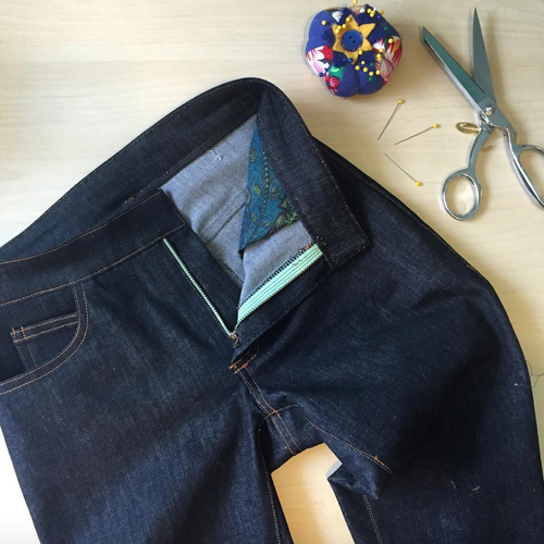 Jeans Making Intensive with Lauren Taylor - April 5-7 | Blackbird Fabrics