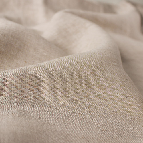 Mid-Weight Linen - Oatmeal | Blackbird Fabrics
