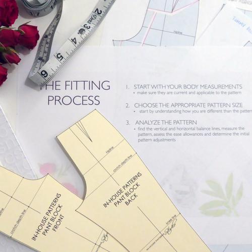 Pant Fitting Fundamentals with Alexandra Morgan | Blackbird Fabrics