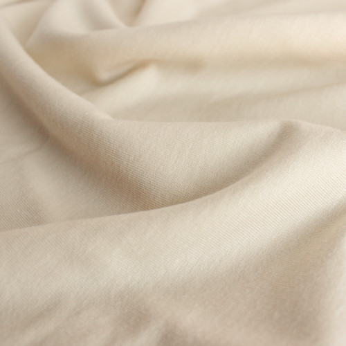 Tencel & Organic Cotton French Terry - Ecru | Blackbird Fabrics