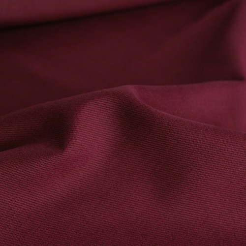 9oz Brushed Bull Denim - Burgundy | Blackbird Fabrics