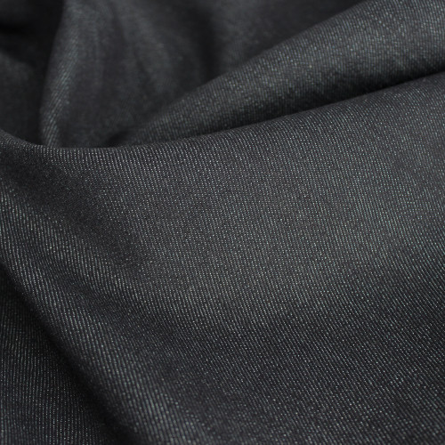 12oz Cotton & Lyocell Non-Stretch Denim - Dark Indigo | Blackbird Fabrics