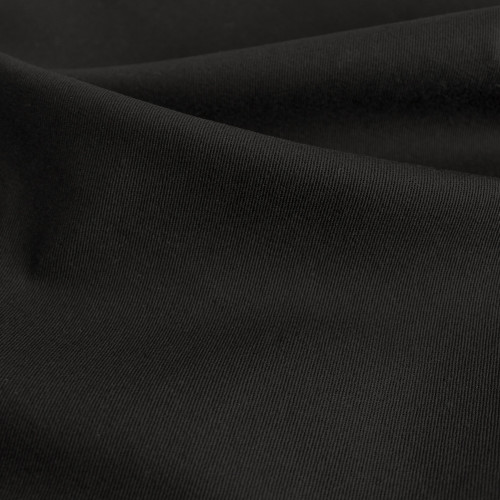 9oz Stretch Cotton Denim - True Black | Blackbird Fabrics