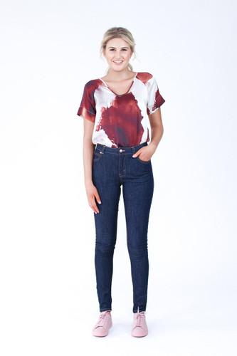 Ash Jeans by Megan Nielsen | Blackbird Fabrics