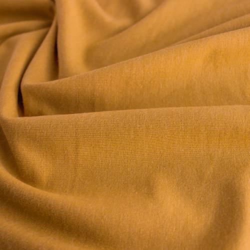 Bamboo & Cotton French Terry - Golden Nugget | Blackbird Fabrics