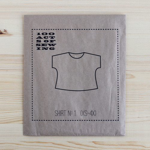 Shirt No.1 by 100 Acts of Sewing | Blackbird Fabrics