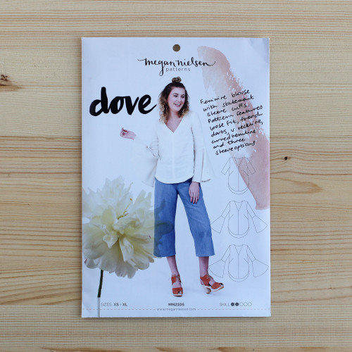 Dove Blouse by Megan Nielsen | Blackbird Fabrics