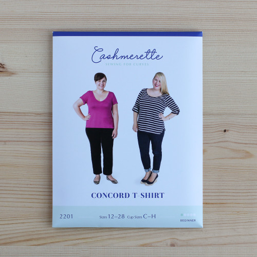 Concord T-Shirt by Cashmerette | Blackbird Fabrics