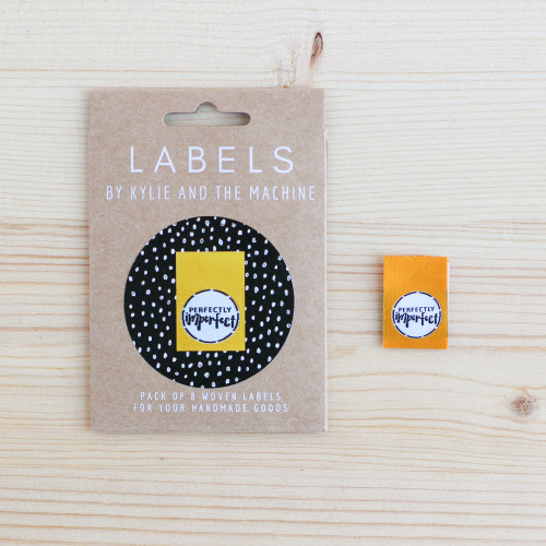 PERFECTLY IMPERFECT Woven Labels by Kylie and the Machine | Blackbird Fabrics