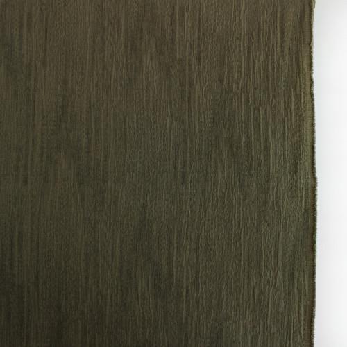 Textured Cotton Linen Jacquard - Olive   Blackbird Fabrics