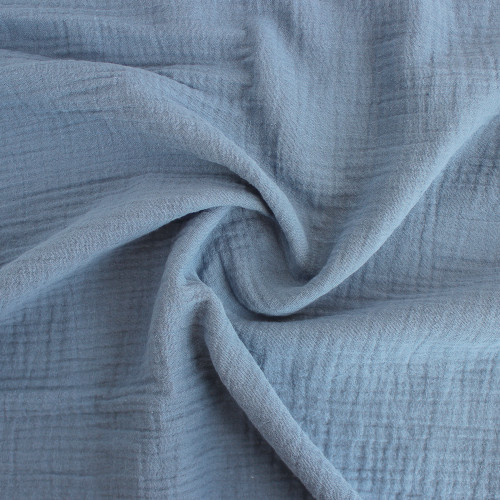 Cotton Double Gauze - Cloud | Blackbird Fabrics