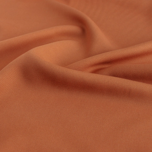 Viscose Twill - Clementine | Blackbird Fabrics