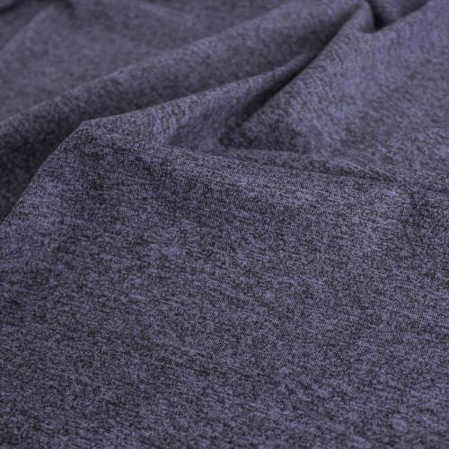 Heathered Athletic Knit - Plum | Blackbird Fabrics