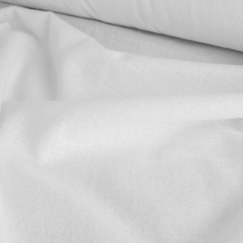 Medium Weight Weft Fusible Interfacing - White | Blackbird Fabrics