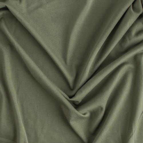100% Organic Cotton Jersey Knit - Sage - 1/2 meter