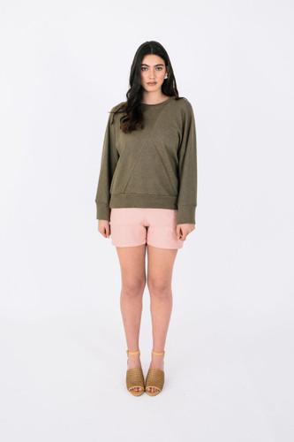 Pinnacle Top & Sweater by Papercut Patterns | Blackbird Fabrics
