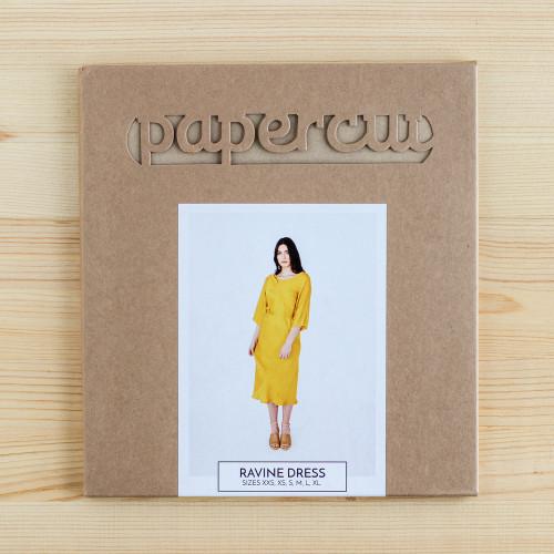 Ravine Dress by Papercut Patterns | Blackbird Fabrics