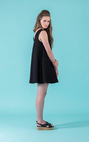 Sway Dress by Papercut Patterns | Blackbird Fabrics