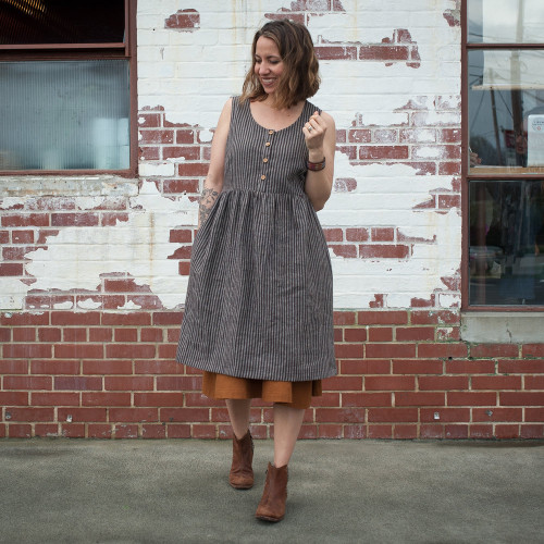 Hinterland Dress by Sew Liberated | Blackbird Fabrics
