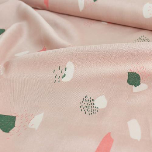 Moonstone Viscose - Pink | Blackbird Fabrics