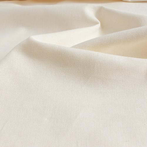 Organic Linen & Cotton - Ivory | Blackbird Fabrics