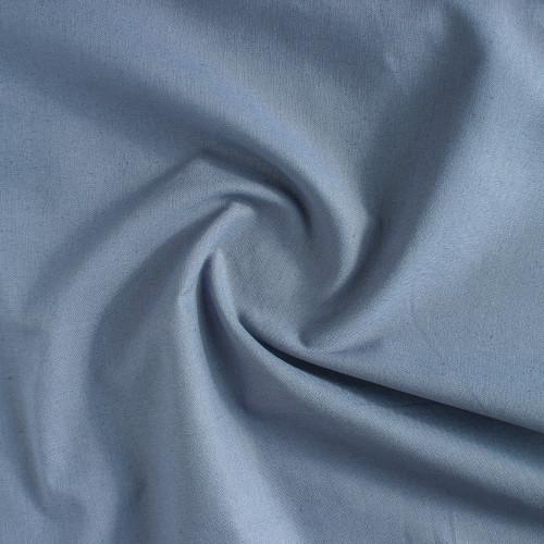 Organic Linen & Cotton - Slate Blue   Blackbird Fabrics