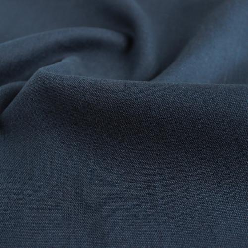 Hemp & Organic Cotton Canvas - Navy | Blackbird Fabrics