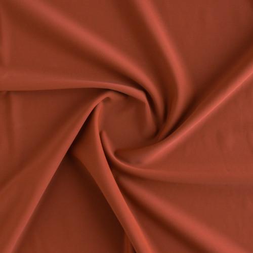 Nylon Swim Tricot - Rust   Blackbird Fabrics