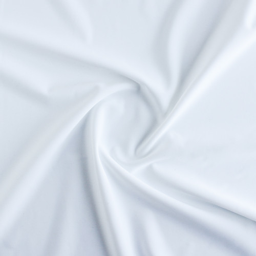 Nylon Swim Tricot - White | Blackbird Fabrics