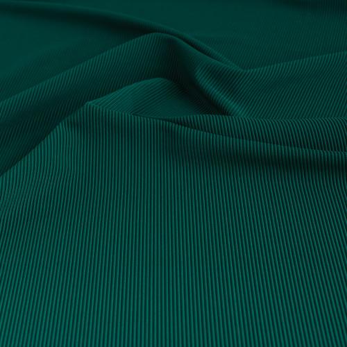 Ribbed Polyester Swim Tricot - Spruce   Blackbird Fabrics