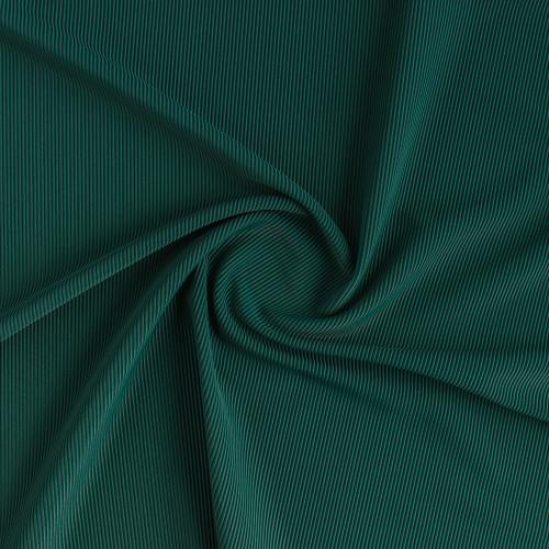 Ribbed Polyester Swim Tricot - Spruce | Blackbird Fabrics
