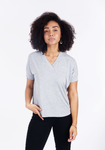 Tabor V-Neck by Sew House Seven | Blackbird Fabrics