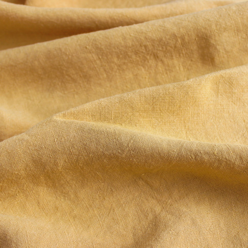 Washed Linen - Mustard | Blackbird Fabrics