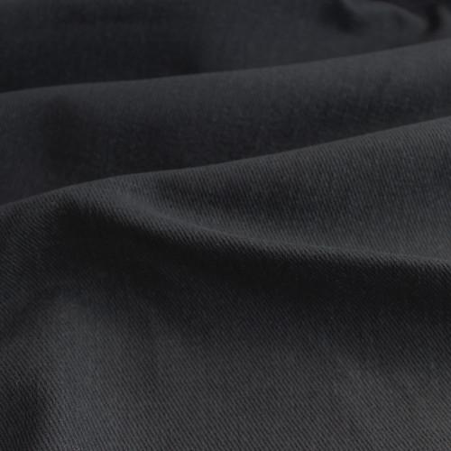 12oz Brushed Bull Denim - Black | Blackbird Fabrics