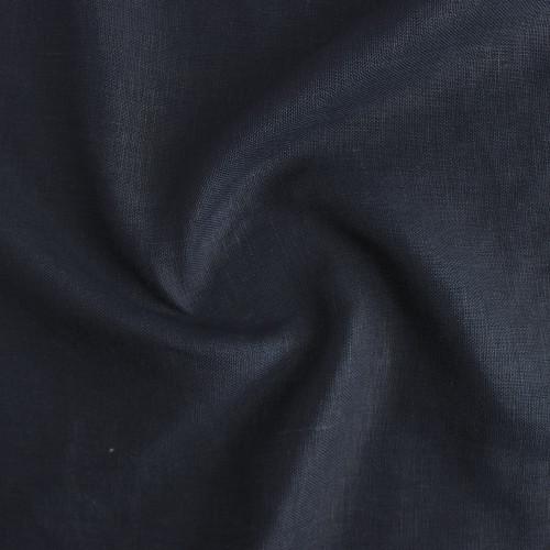 7oz Linen - Navy | Blackbird Fabrics