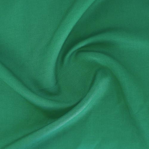 Silky Linen & Viscose - Viridian Green   Blackbird Fabrics