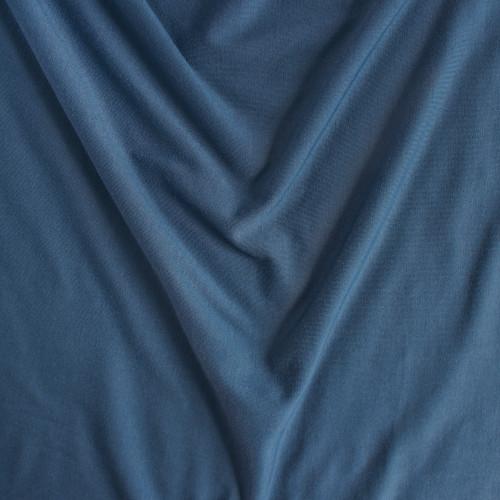 Bamboo Jersey Knit - Deep Ocean | Blackbird Fabrics
