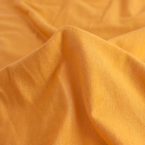 Bamboo Jersey Knit - Turmeric | Blackbird Fabrics