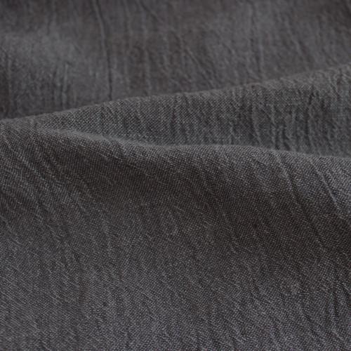 Linen Gauze - Charcoal | Blackbird Fabrics