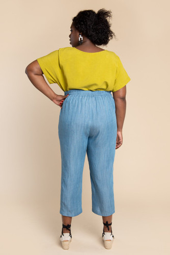 Pietra Pants & Shorts by Closet Case Patterns | Blackbird Fabrics