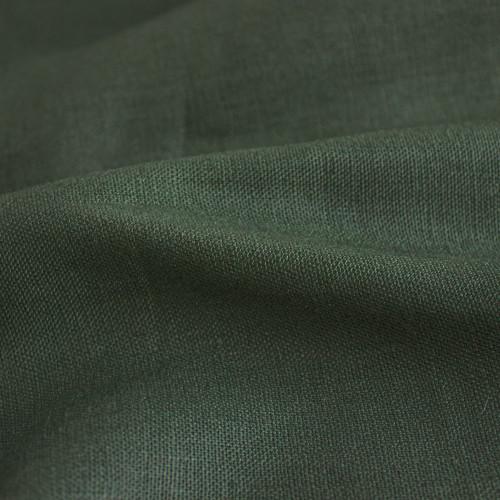 7oz Linen - Pine   Blackbird Fabrics