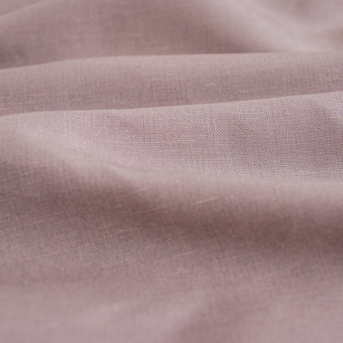 Silk & Linen Slub - Sepia Rose   Blackbird Fabrics