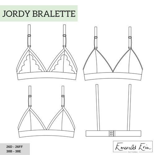 Sew Your Own Jordy Bralette - October 25th