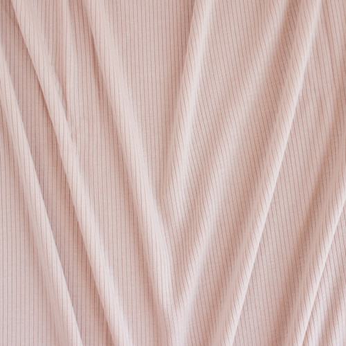 Light Weight Modal Rib Knit - Bisque | Blackbird Fabrics