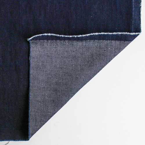11.5oz Italian Non-Stretch Denim - Ultra Deep Indigo | Blackbird Fabrics