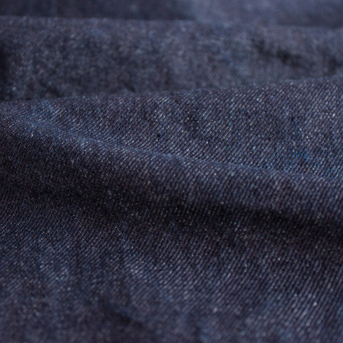11.5oz Italian Non-Stretch Denim - Dark Indigo | Blackbird Fabrics